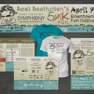 Beat Beethoven 5K Marketing Materials