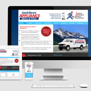 Jim and Dave's Appliance Website