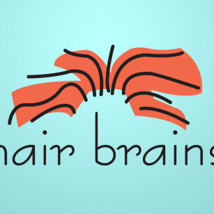 Hair Brains Logo