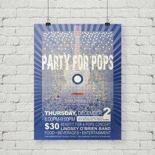 Party for Pops Poster
