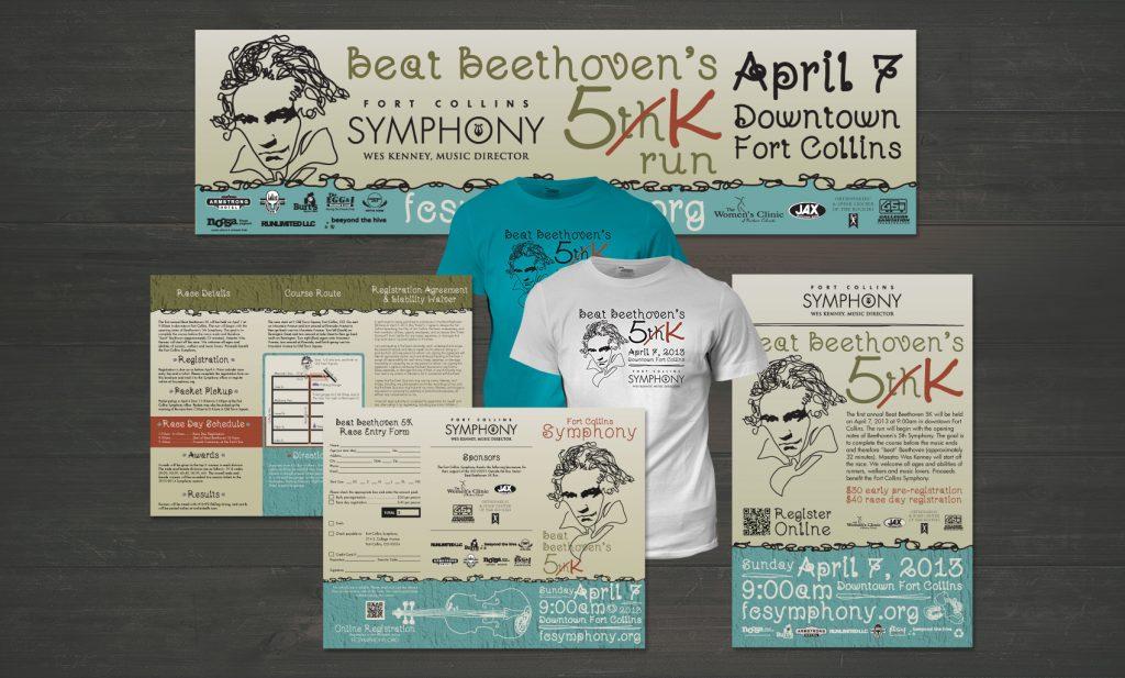 Beat Beethoven 5K Marketing Materials