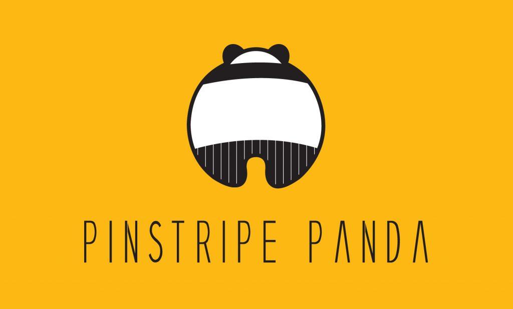 Pinstripe Panda Logo